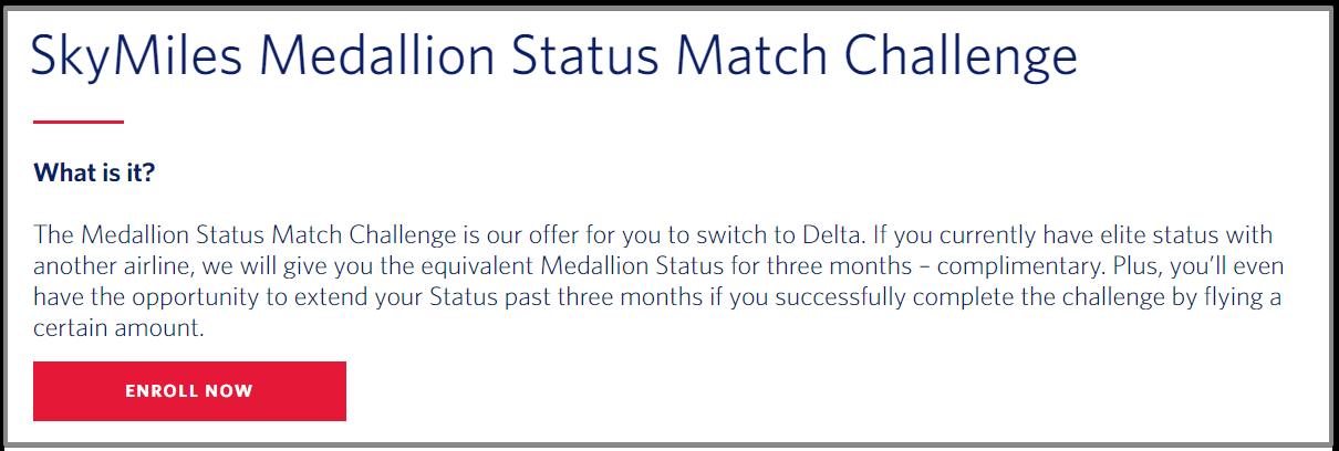 Enroll now Delta